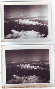 Atomic bomb photo reconnaissance