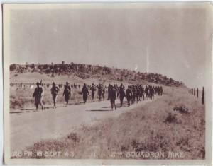 Squadron hike - 18 Sept. 43